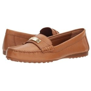 🎀NWOB🎀 Coach Fredrica Leather Loafer In Ginger